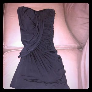 Sexy silky little black dress for any occasion